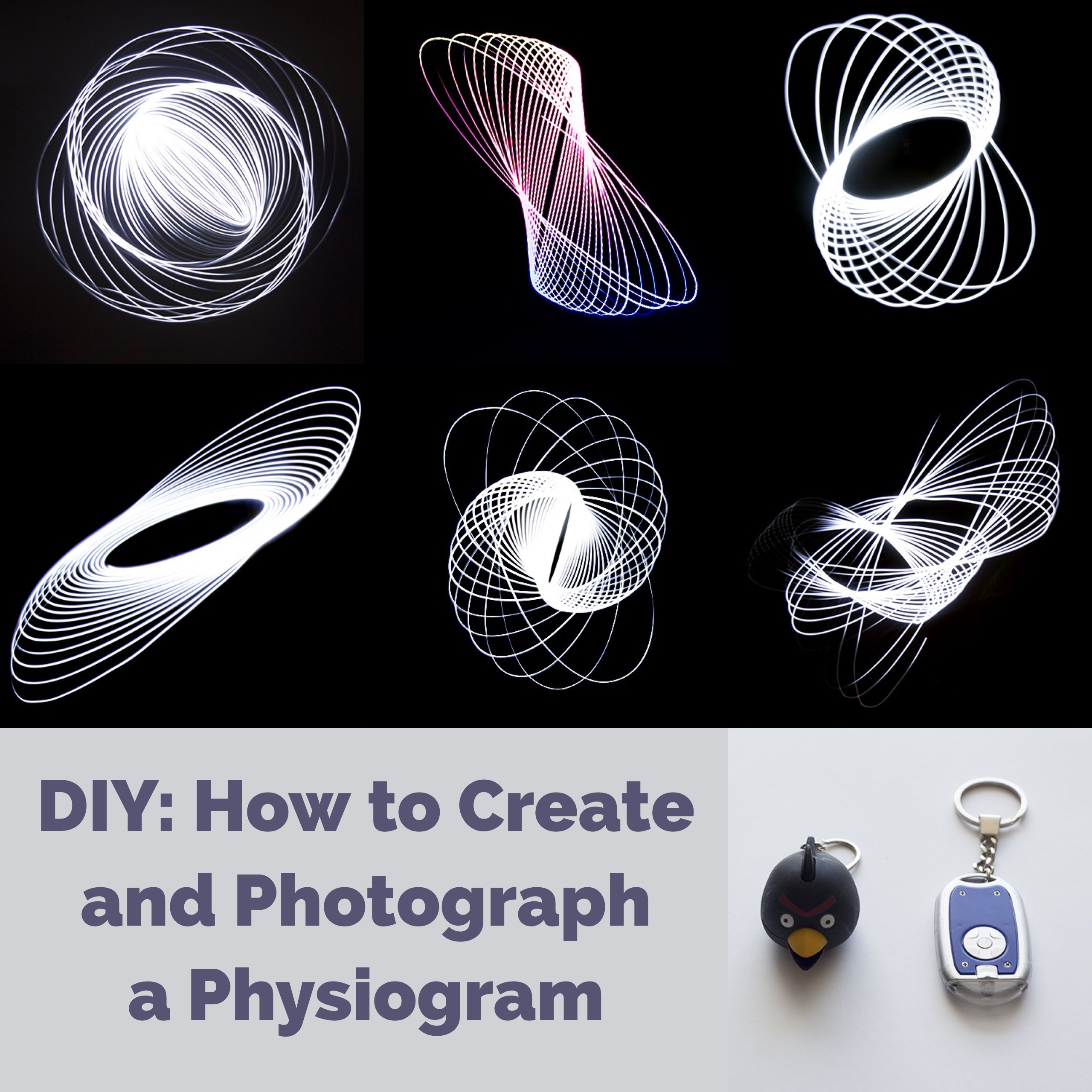 A Fun Project You Can do in Your Own Home - How to Create a Physiogram