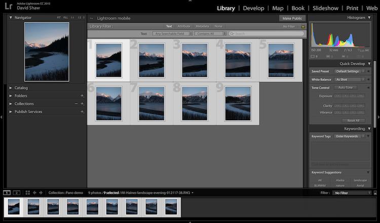 How to Create a Panorama Photo
