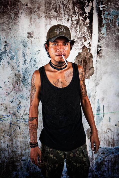 Street portraits photography East Timor