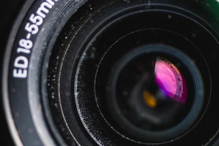 Dust lens used camera gear