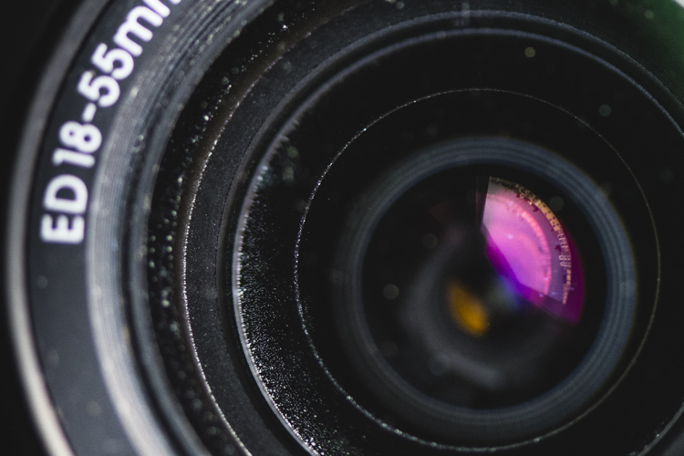 Dust lens used