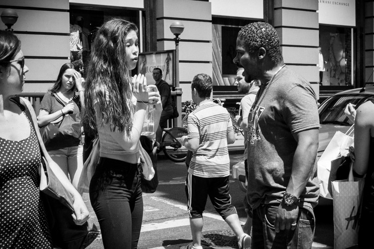 street photography - crosswalk