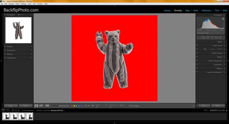 Studio product processing 16