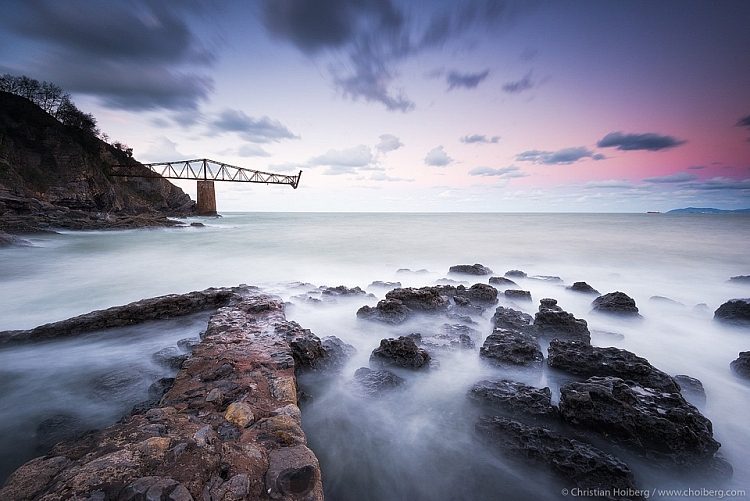 long exposure seascape