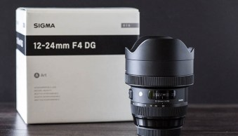Sigma 12-24mm Art Lens