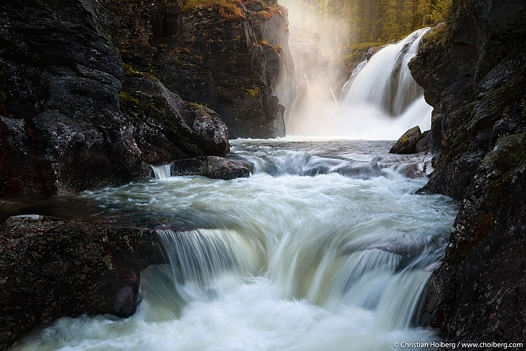 waterfall case study