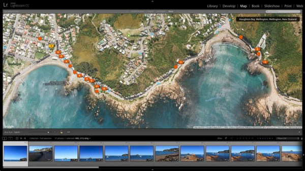 Tutorial – How to Use the Lightroom Map Module