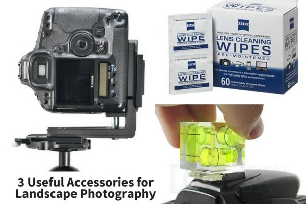 3 Useful Accessories for Landscape Photography