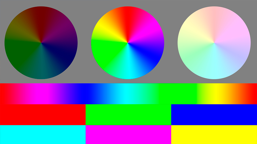 Blending modes in Photoshop.