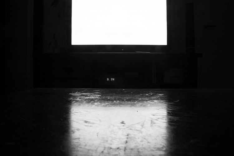 Image: catching up a bit of TV – a perfect photographic opportunity