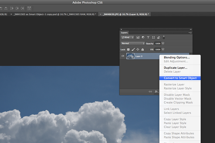 3 Good Reasons to Use Layers in Photoshop - smart object
