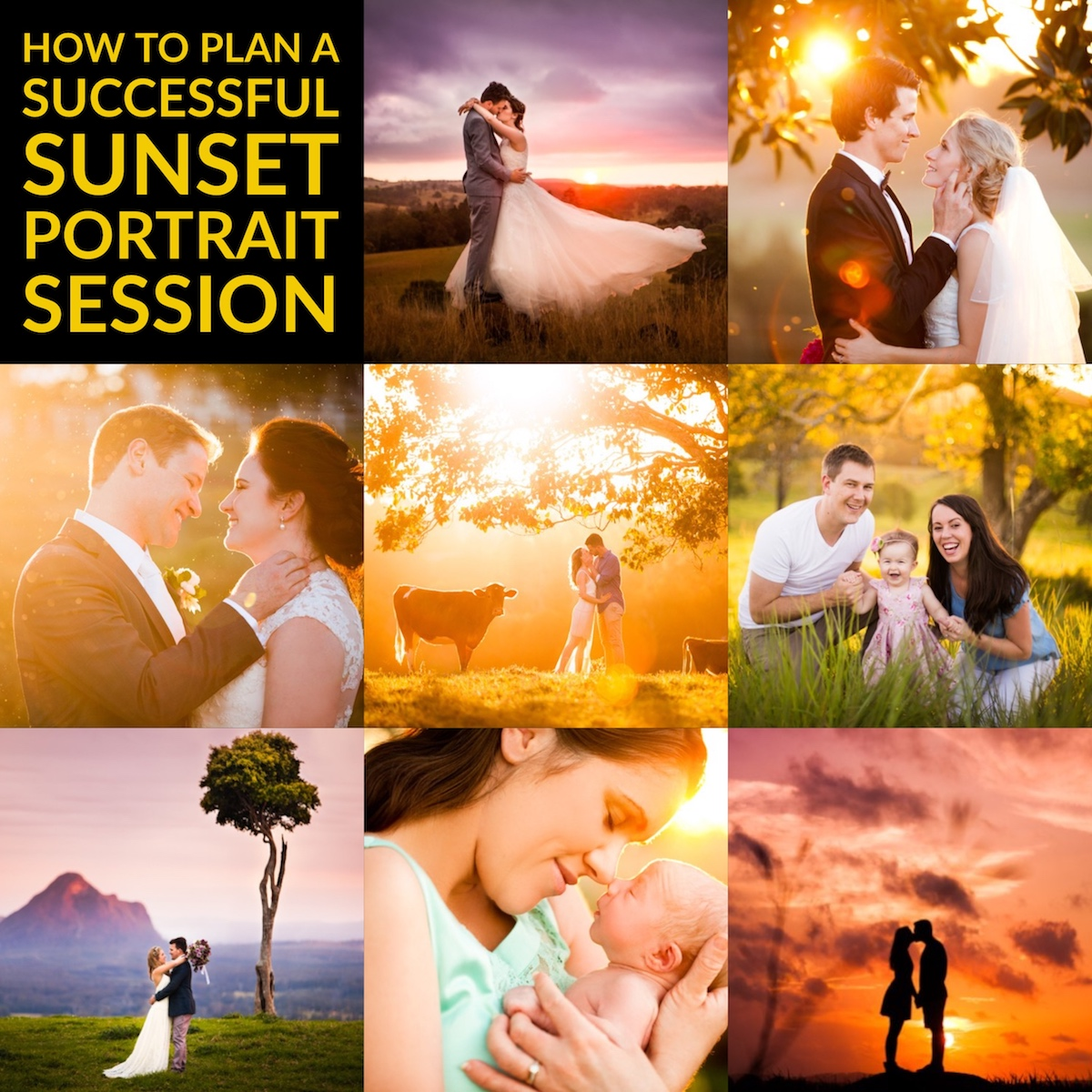 How to Plan a Successful Sunset Portrait Session