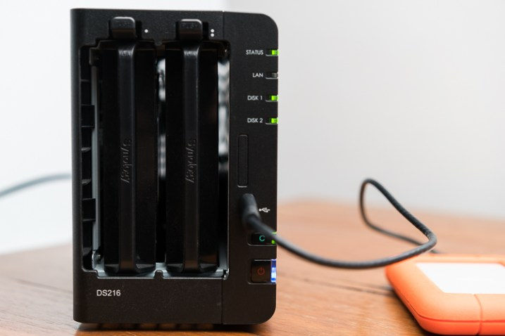 How to Use a Synology DS214 NAS to Get your Photos Online Easily