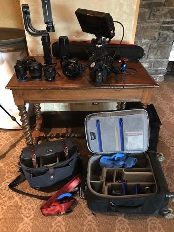 shooting video gear