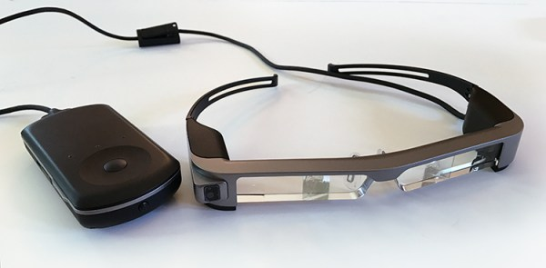 Review of the Epson Moverio BT-300FPV Smart Glasses for Drones