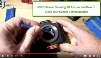 VSGO Camera Sensor Cleaning Kit Review