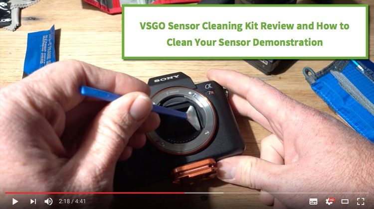VSGO sensor cleaning kit