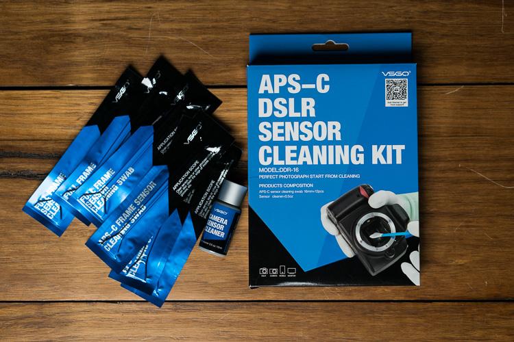 VSGO Camera Sensor Cleaning Kit Review