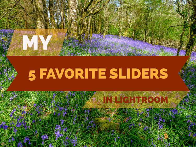 My 5 Favorite Lightroom Sliders