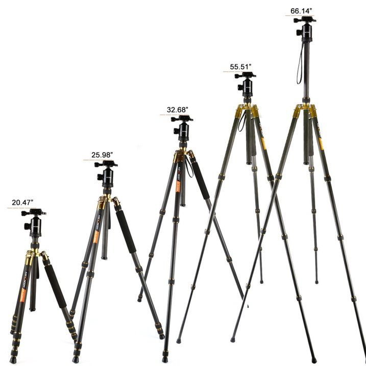 Review of the K&F Concept TC2534 Lightweight Carbon Fiber Tripod