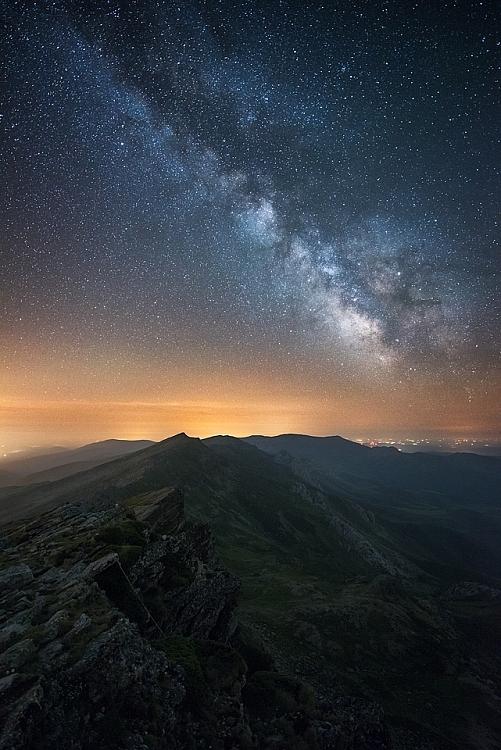 Fotografia da Via Láctea