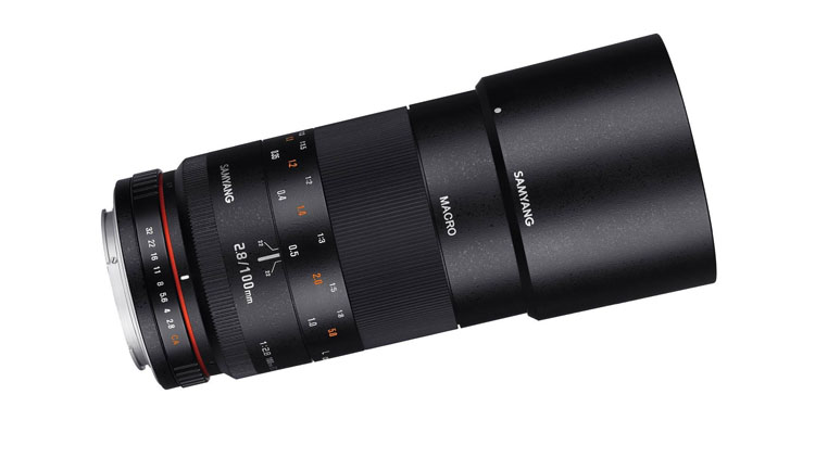 The Samyang Macro 100mm 2.8 Lens