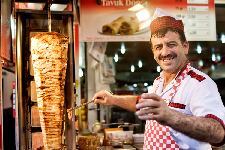Kebab Seller, Istanbul, Turkey - How to be Better Prepared for Your Next Photo Shoot