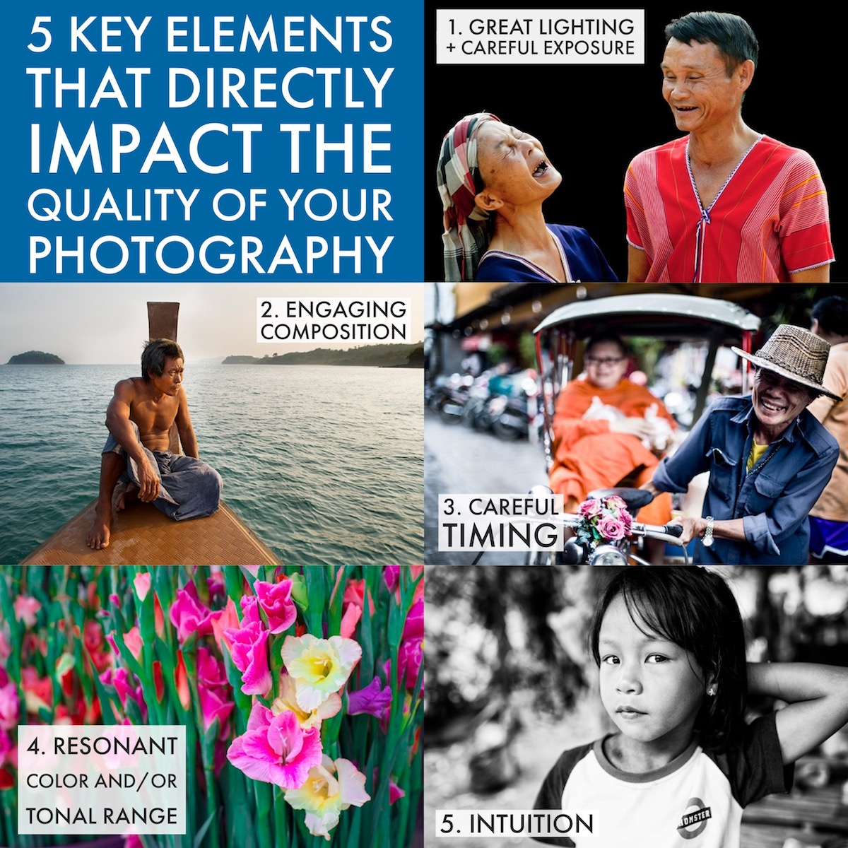 5 Key Elements that Directly Impact the Quality of Your Photography