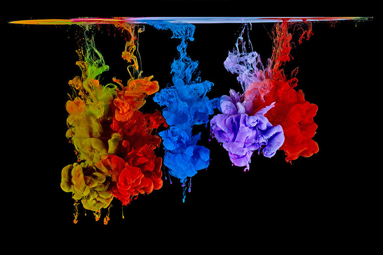 Color Injected in Water Fundamentals of High-Speed Photography