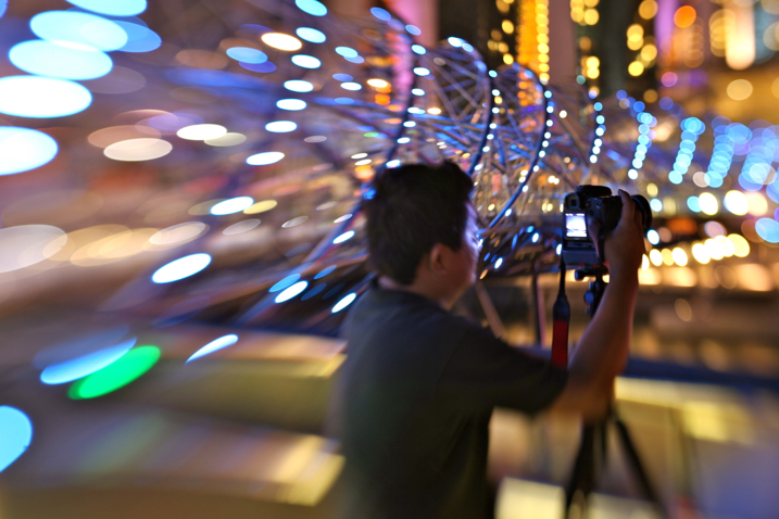 Image: The Lensbaby Composer creates interesting bokeh around the subject.