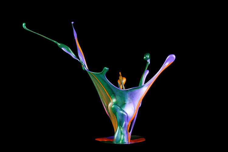 Liquid Sculpture Fundamentals of High-Speed Photography