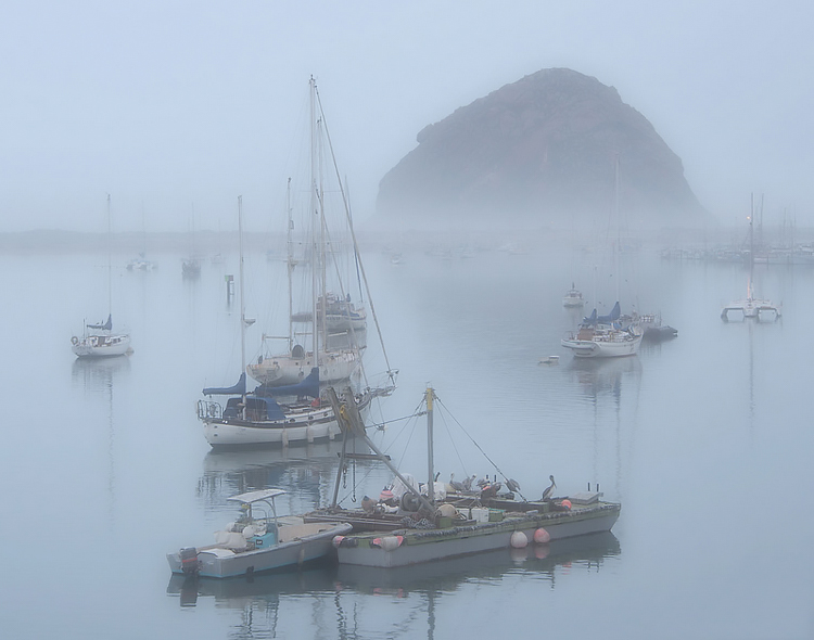Morro-Bay- Overcast Light Landscape Photography: It's All About the Light