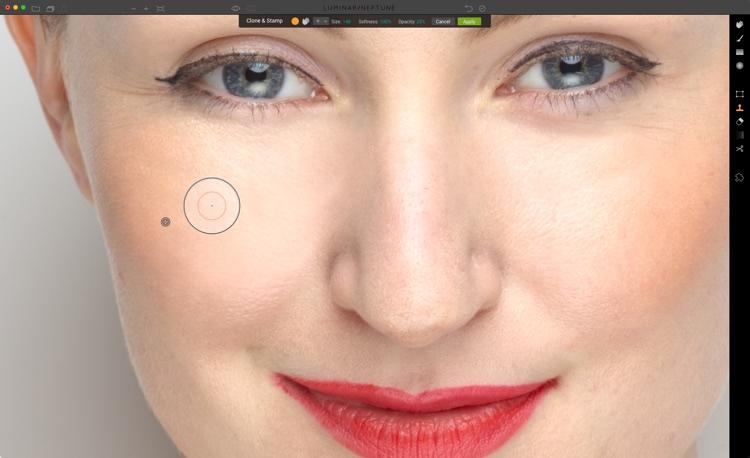 如何使用Luminar进行人像修饰