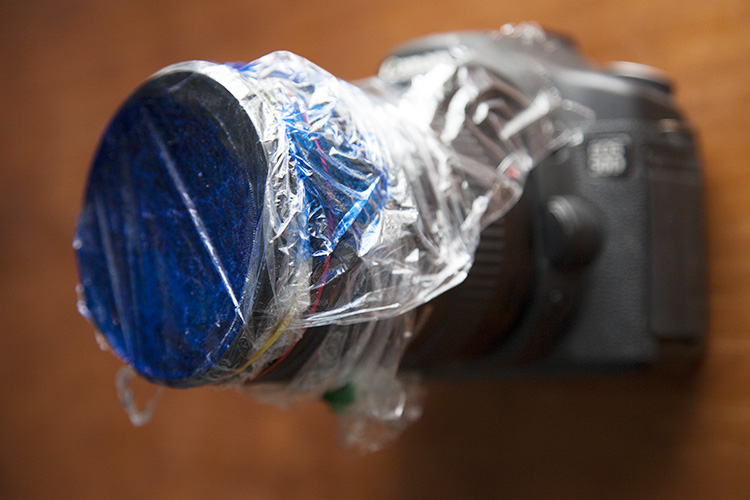 How to Use Plastic Wrap to Create Neat Color special Effects