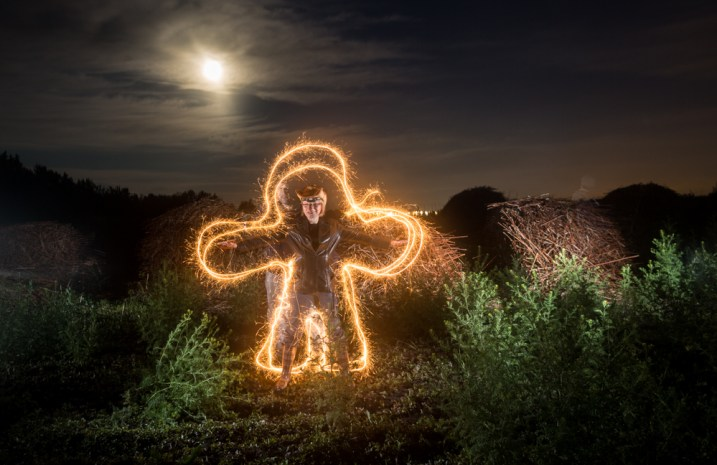 Weekly Photography Challenge - Light Painting