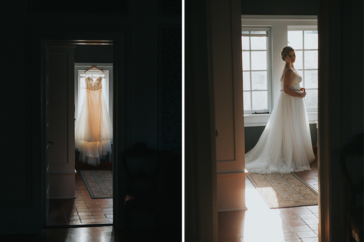 Dark and Moody Wedding Portraits in Shadows - 5 Tips for Mastering Shadows in Your Photography