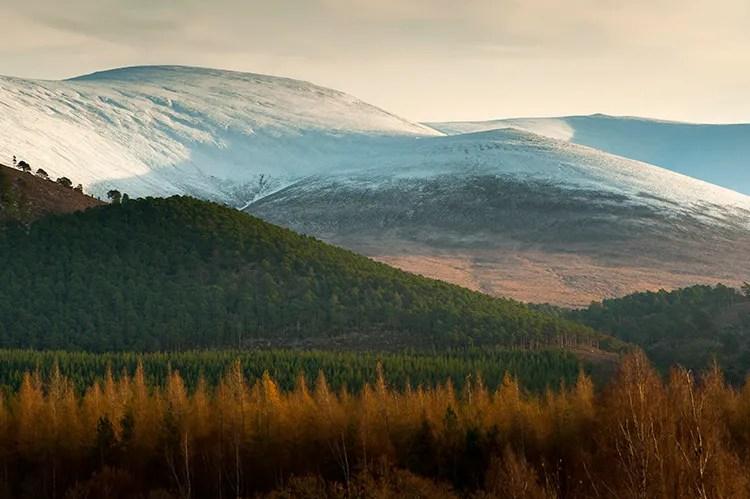 Nikon 70-200mm lens review compressing landscapes