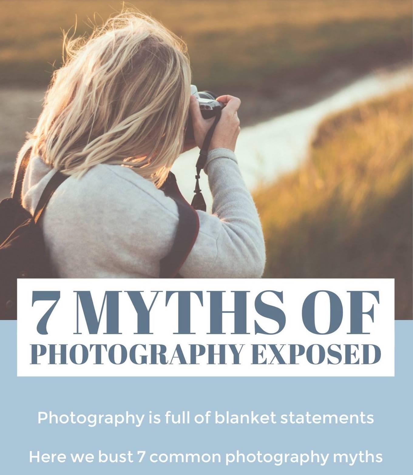 Photography myths