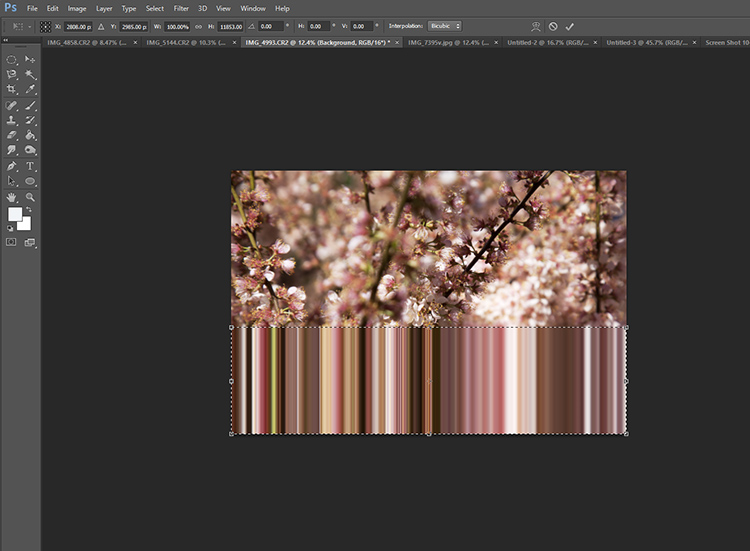 How to do Pixel Stretching in Photoshop