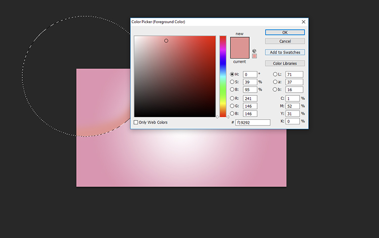 paintbrush - How to Create Minimal Desktop Background Using Photoshop
