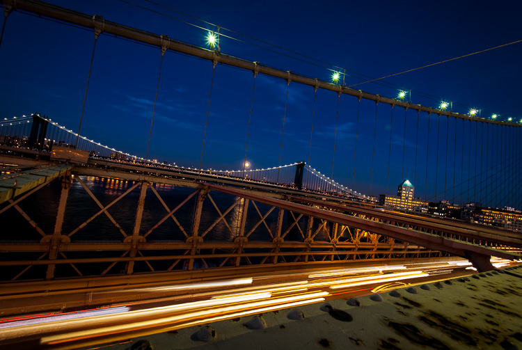 Image: Blue hour in New York City.