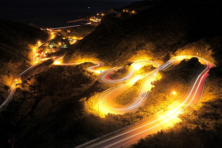 How to Create Dynamic Car Light Trail Photos