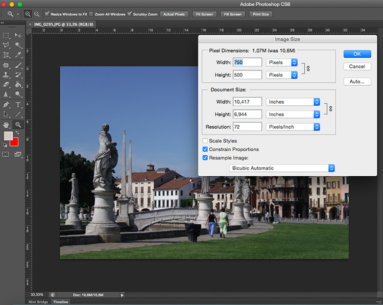 How To Understand Pixels Resolution And Resize Your Images In