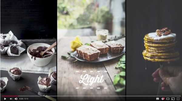 Video Tips for Better Food Photography
