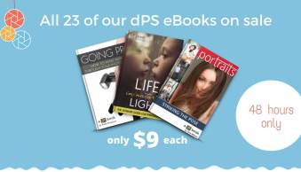All dPS eBooks just $9 Today! (Save up to 80%)