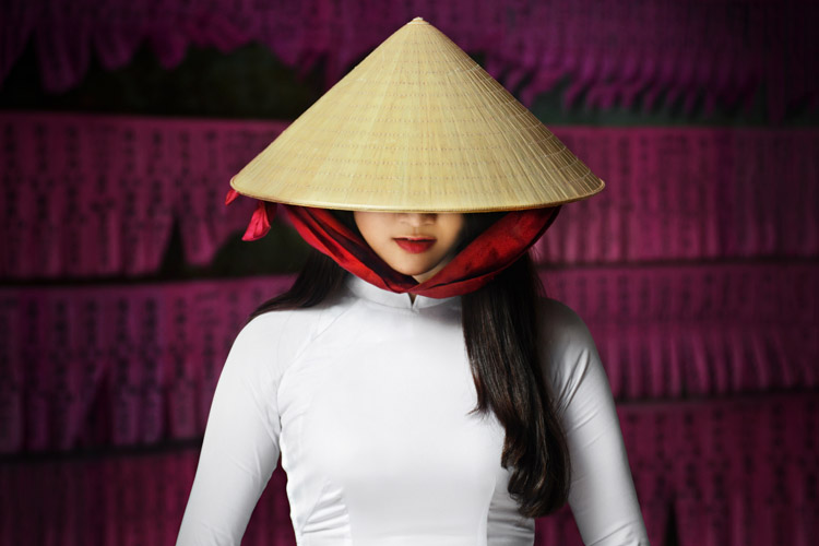 Lady in Conical Hat - Putting the Fine Art into Travel Photography