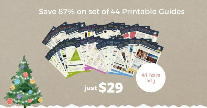 DEAL: 87% off 44 Photography Training Cards for your Camera Bag