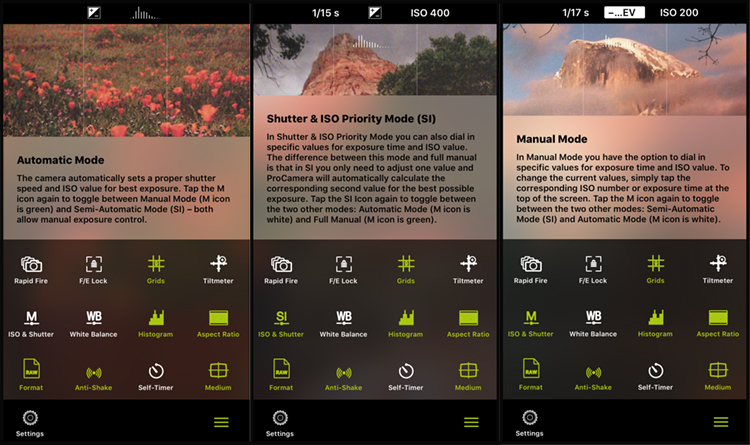 9 More Great Apps You Need for Your Smartphone - ProCamera