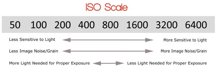 ISO缩放比例-手动模式的超级简单介绍及其如何改变照片