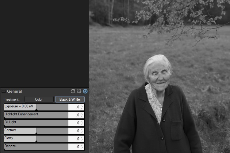 How to do Black and White Conversion with ACDSee Photo Studio Ultimate